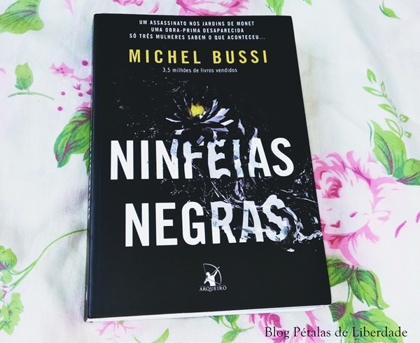"""""""Ninfeias Negras"""", do Michel Bussi, sorteio, livro"""