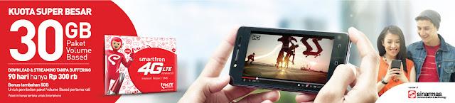 Internetan Sepuasnya Dengan Smartfren 4G LTE