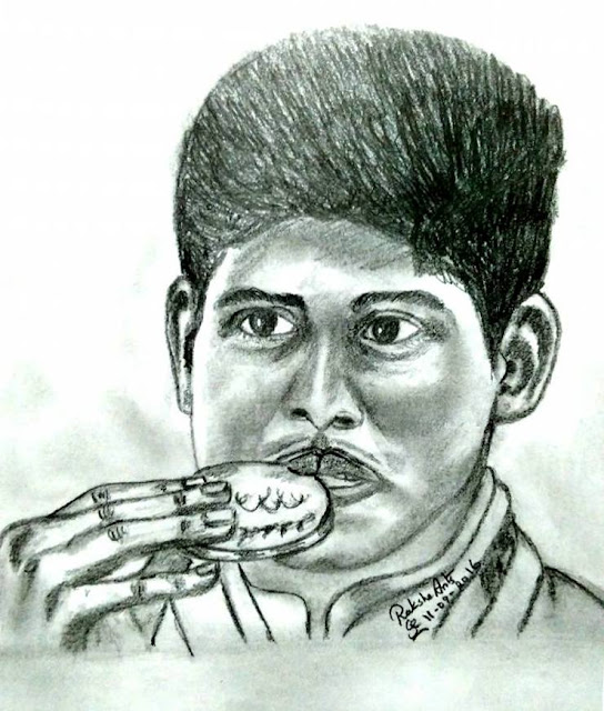 PENCIL DRAWING -  Mariyappan Thangavelu