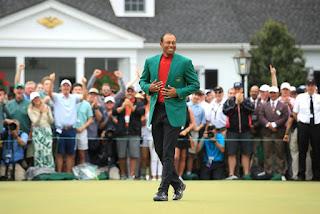 GOLF (Masters Augusta 2019) - Tiger Woods agranda su leyenda más si cabe con su quinta chaqueta verde tras 11 años de sequía
