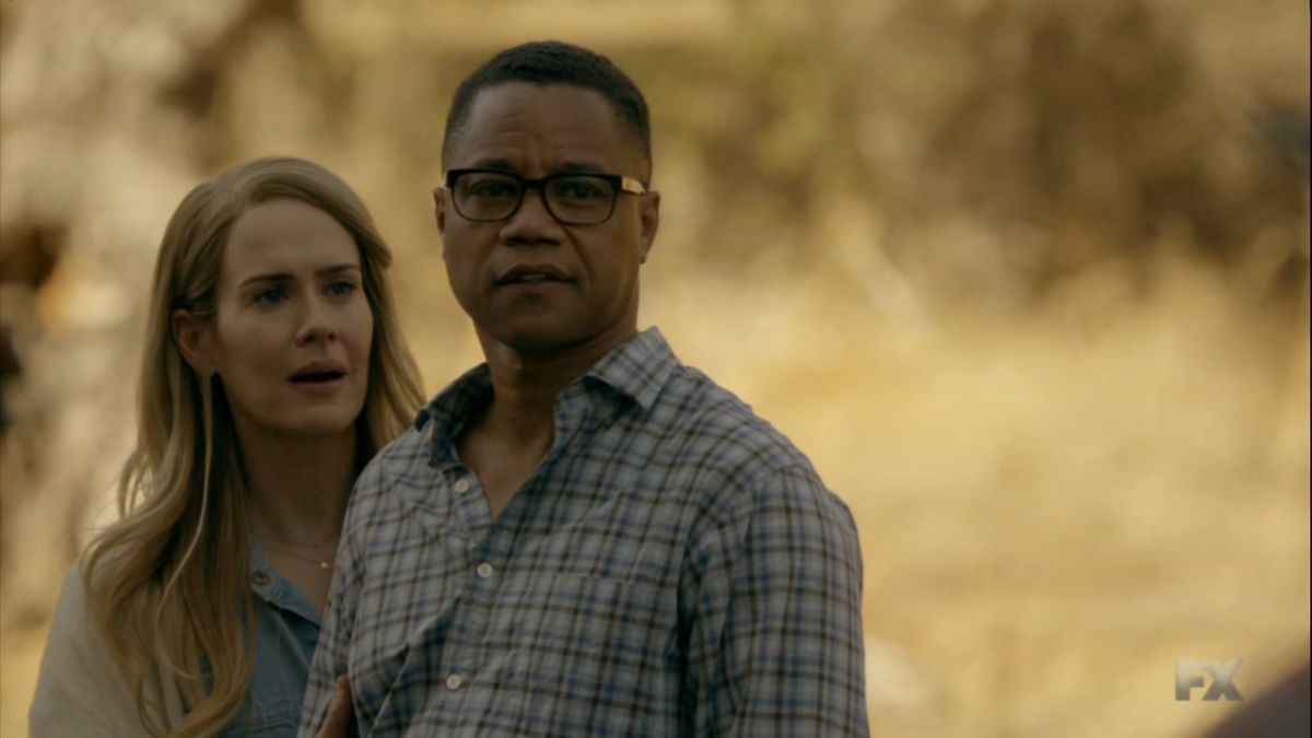 American Horror Story 6 - My Roanoke Nightmare - Sarah Paulson y Cuba Gooding Jr