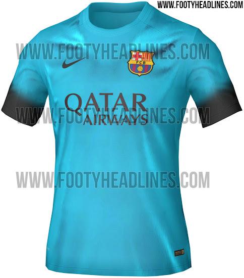 Desvelan cómo será la tercera equipación del Barça para la campaña ... c038d9e3034