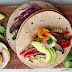 Vegan Tacos with Millet, Portobello Mushrooms, and Red Peppers