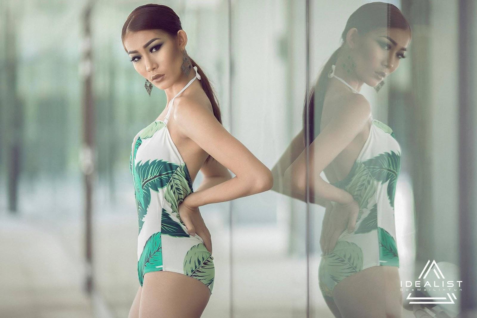Nan Mway Phoung Loon - Miss Universe Tachileik 2017