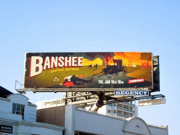 Banshee season 2 Cinemax billboard