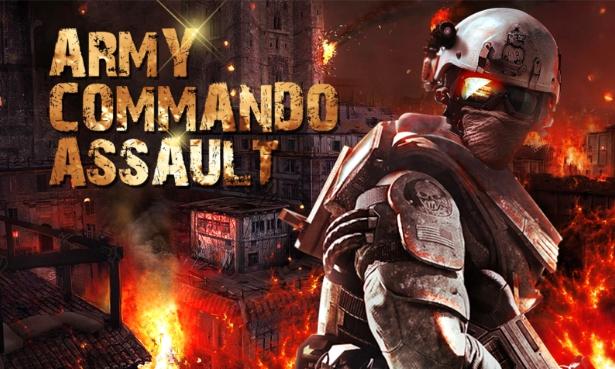 Army Commando Assault Mod Apk 1.12 Mod Money