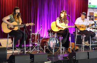 Dana Hassall, Hayley Marsten & Roger Corbett at Tamworth Country Music Festival