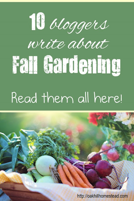 Fall gardening: when and how. 10 bloggers write about what and how they plant their fall gardens. Pin this to access all 10 posts.