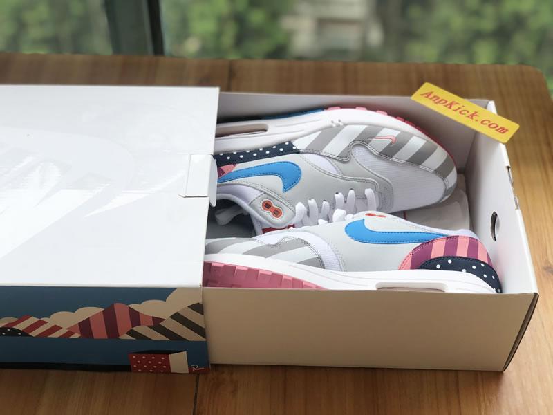 "Parra x Nike Air Max 1 ""White Multi"" WhitePure Platinum AT3057 100 For Sale"