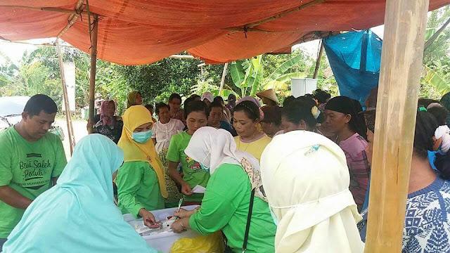Baksos Kesehatan Kampung Jogol, Muara Gembong
