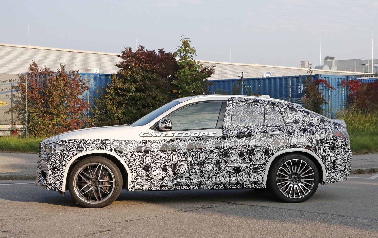 2019 bmw x4 m looks to knock mercedes amg glc coupe off its throne carscoops. Black Bedroom Furniture Sets. Home Design Ideas