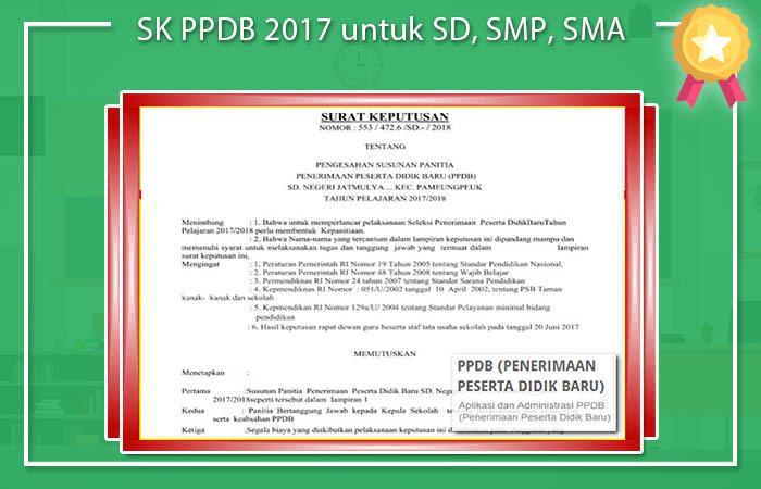 SK PPDB