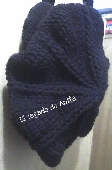 Patrón 100grs de lana para aguja de crochet nro. 3 y 1 2 o 4. Use dos puntos  para la boina  Punto alto  pa. Punto relieve  pr 43e8b3515c5