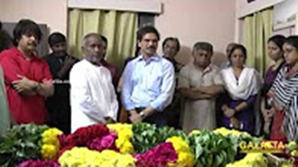 Ilaiyaraaja pays last respect to Balamuralikrishna