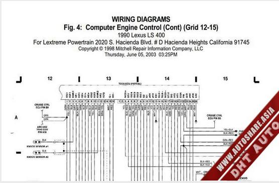 Lexus Ls400 1990 Engine Wiring Diagram