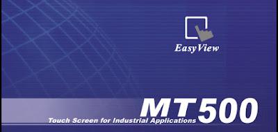 Phần mềm lập trình màn hình Hmi Weintek EasyBuilder 500 for MT500 Series