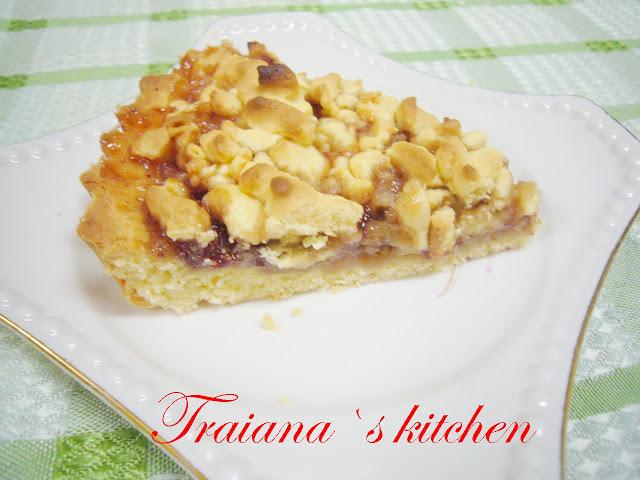 Виенски сладкиш със сладко от горски ягоди