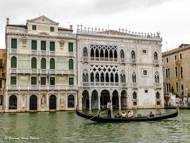 Ca' d'Oro en el Gran Canal - Cannaregio, Venecia por El Guisante Verde Project