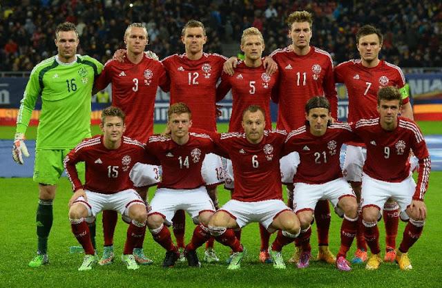 Denmark squad for FIFA 2018