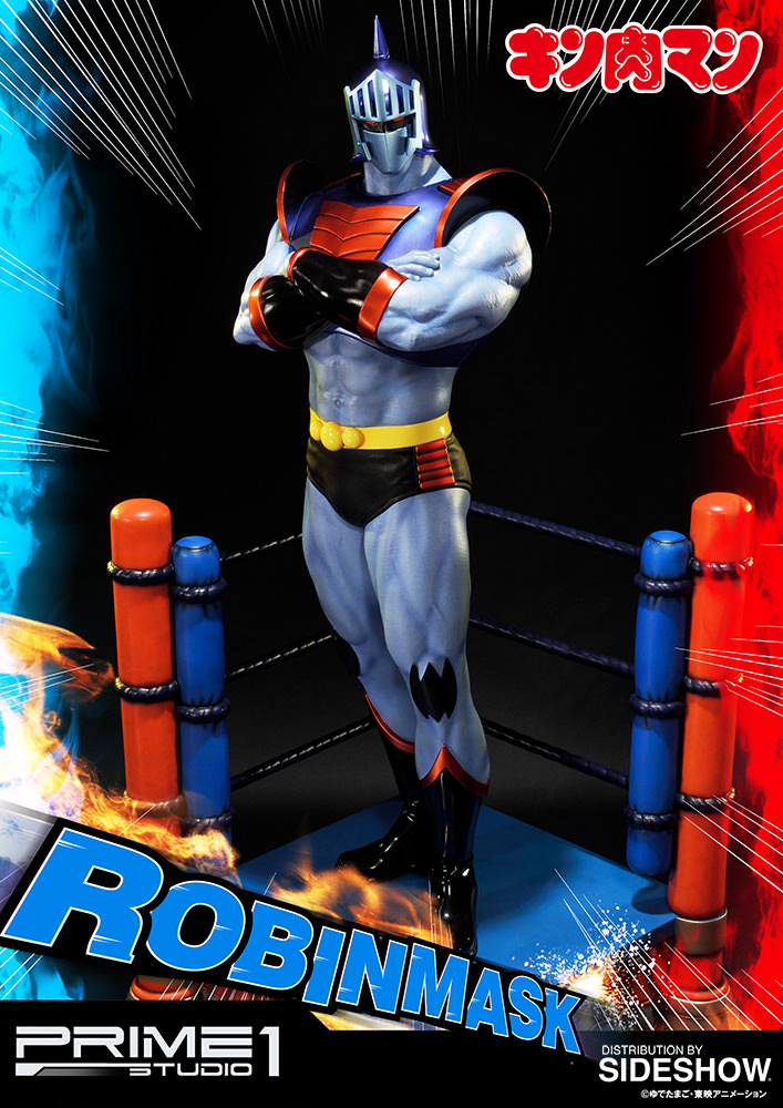 blog dos brinquedos robin mask kinnikuman statue