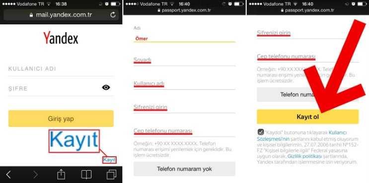 Yandex mail açmak için gösterdiğim bu adımları takip etmeniz yeterli olacaktır.