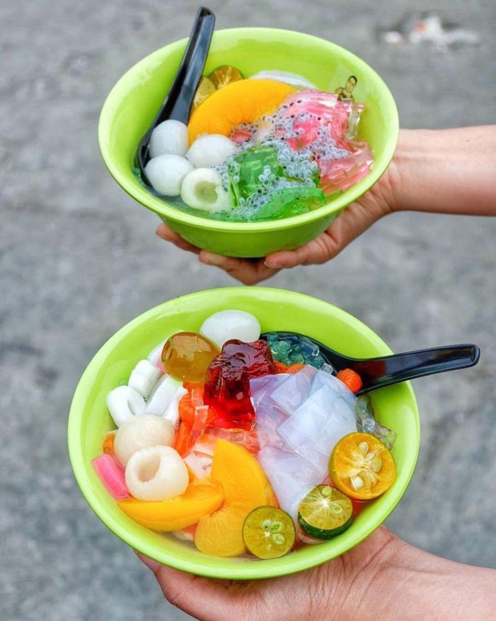 Resep Cara Membuat Es campur jelly