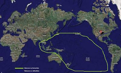 Kota-kota Mitologi - Peta Atlantis