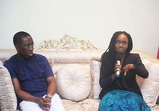 YOUTH EMPOWERMENT: Okowa Meets Orode Uduaghan,Other Young Entrepreneurs