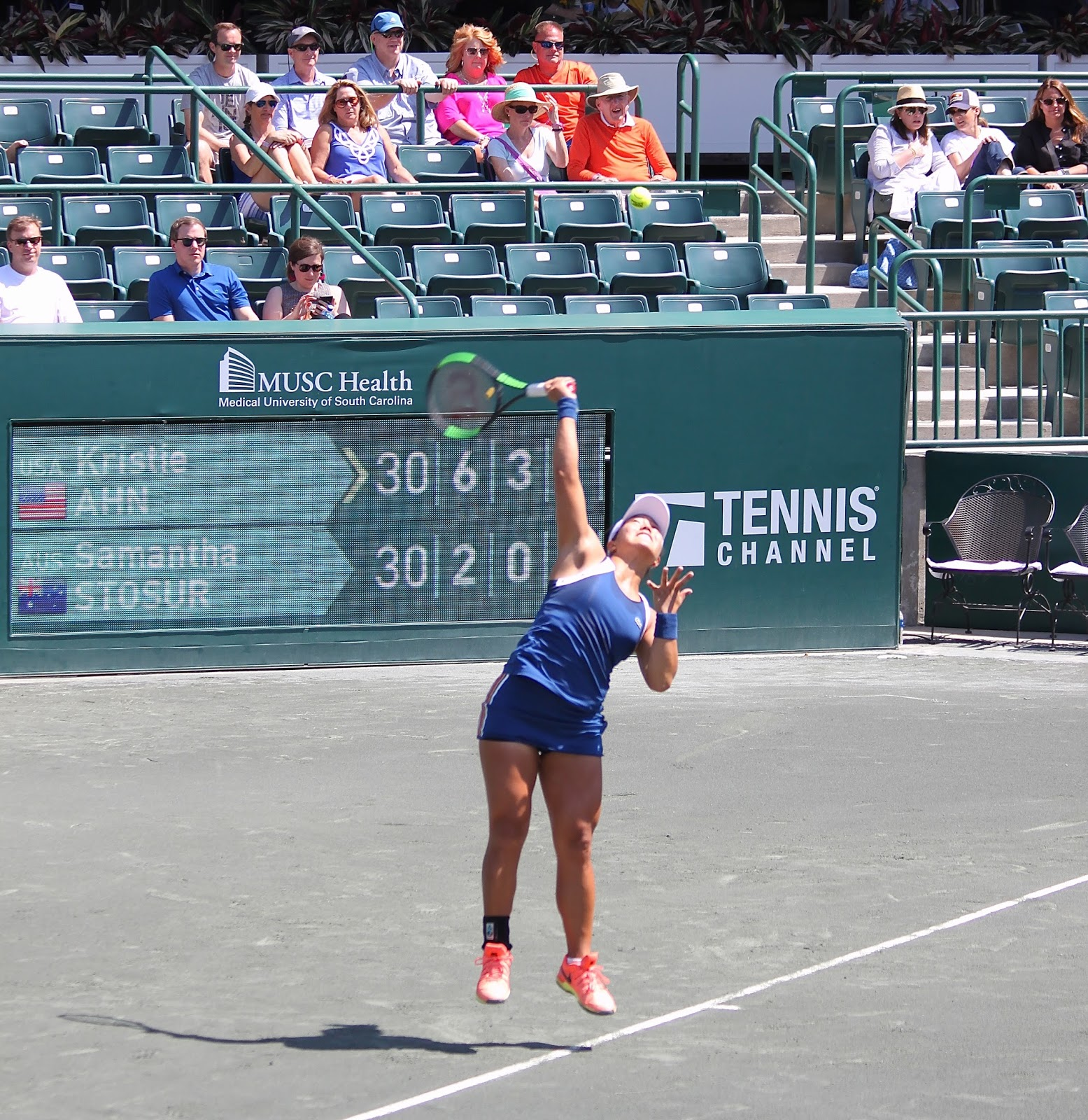lowcountry outdoors: 2018 volvo car open - tuesday tennis