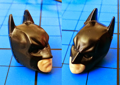 Size of head pieces level 1 Batman Bandai SpruKits models
