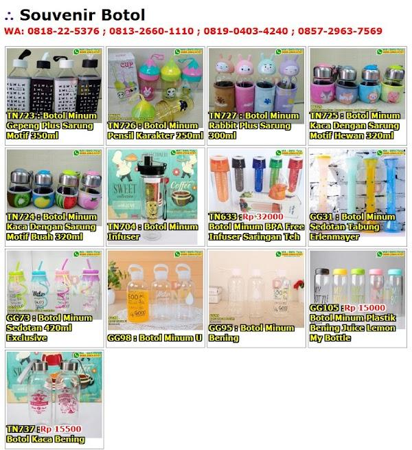 Daftar Harga Souvenir Botol
