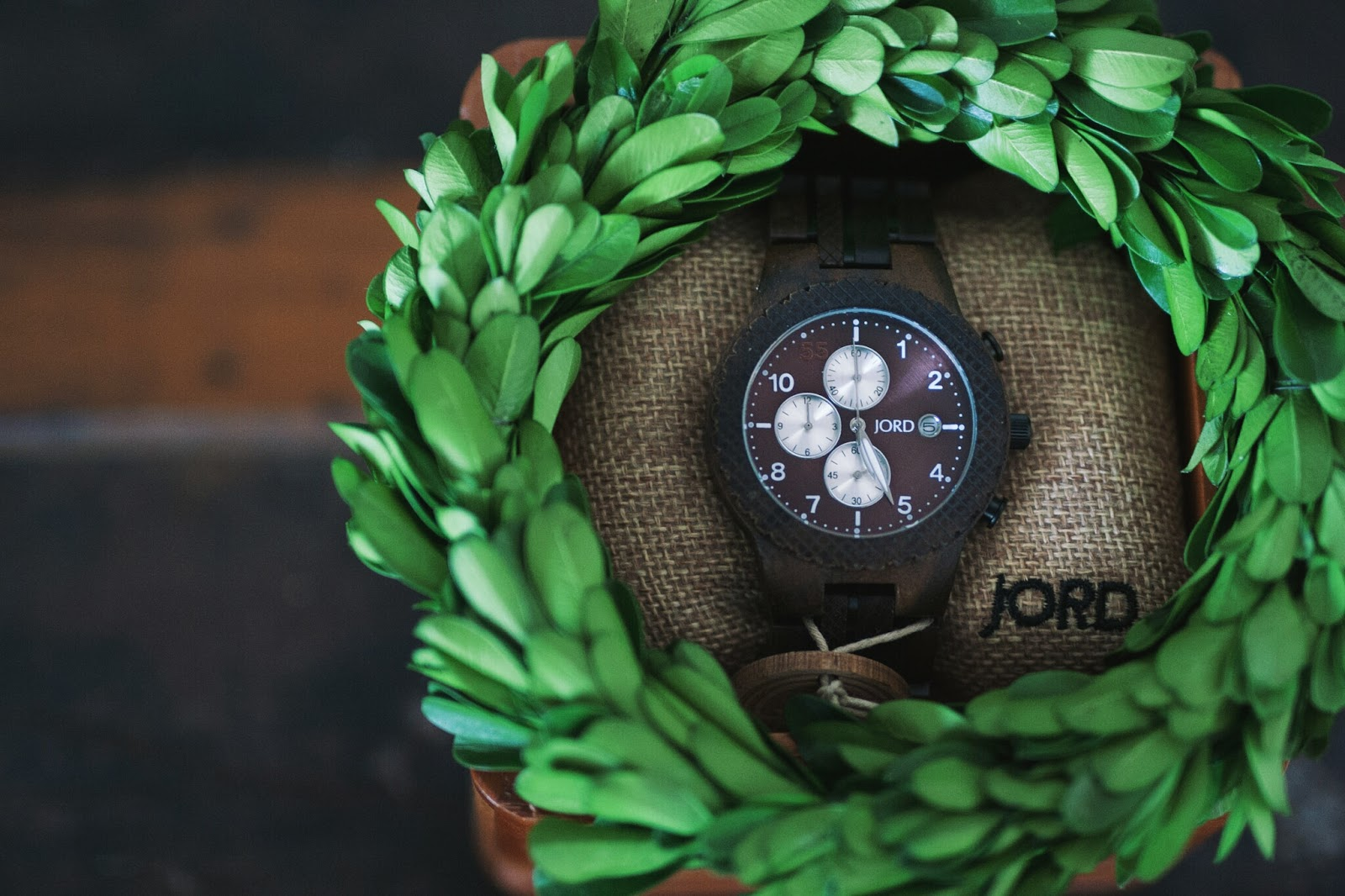 Jord Conway wood watch giveaway valentines gifts for her