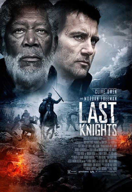 Poster Last Knights 2015 Full Movie Download Dual Audio 300MB