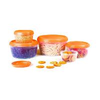 Cello Fabby Container Set of 5 Pieces For Rs 156 at Amazon