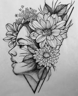 Sketsa Gambar Bunga Dan Cara Membuat Sketsa Bagi Pemula