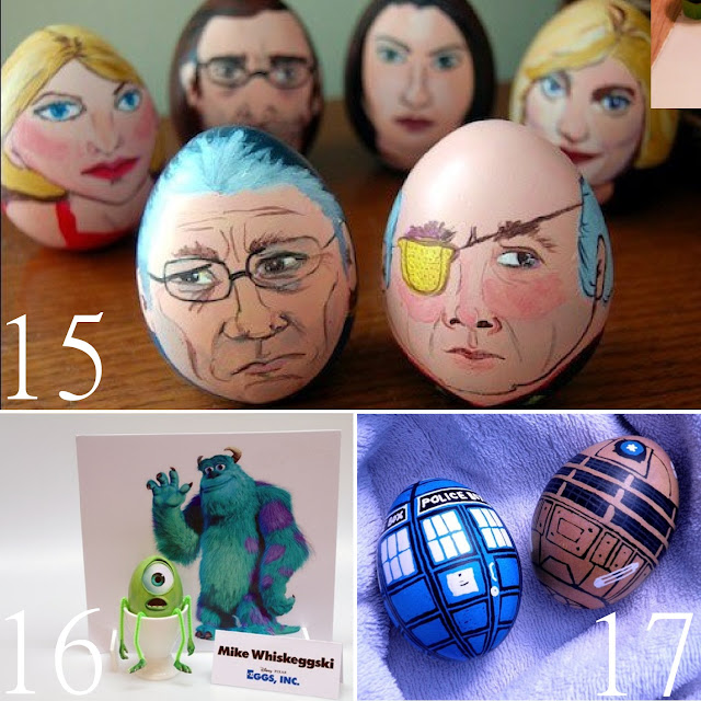 dr. who easter egg character ideas