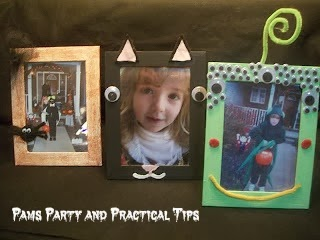 Decorated Halloween Pictures Frames