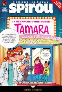 Numéro Spécial, Spirou, Tamara, numéro 4097, année 2016