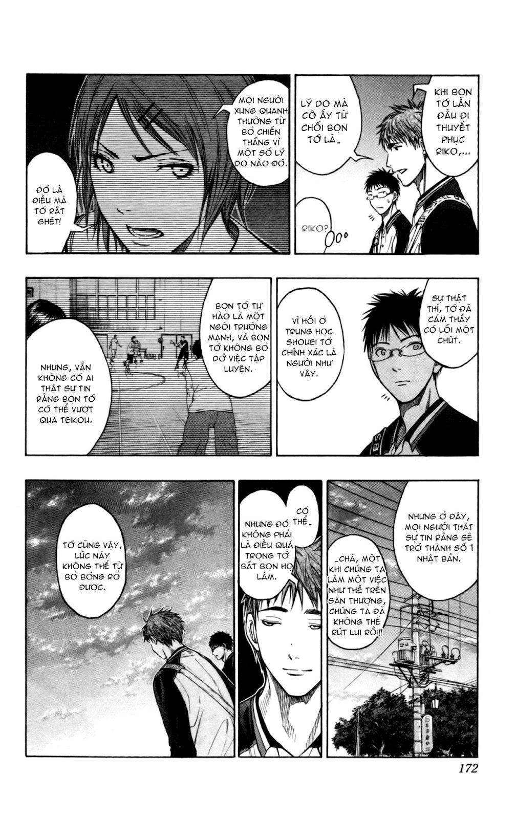 Kuroko No Basket chap 098 trang 7