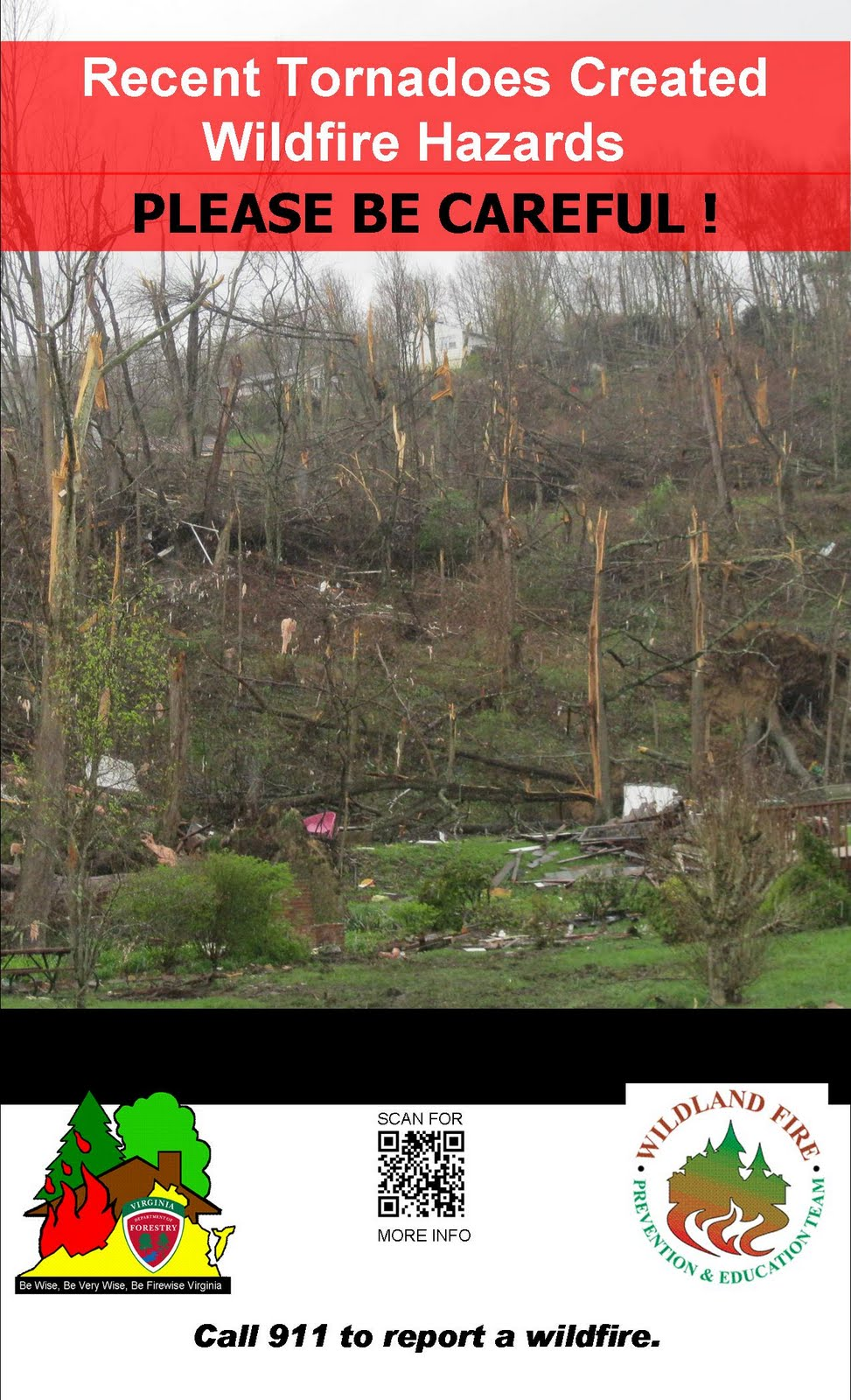 Virginia Wildfire Information and Prevention: Scores of ...