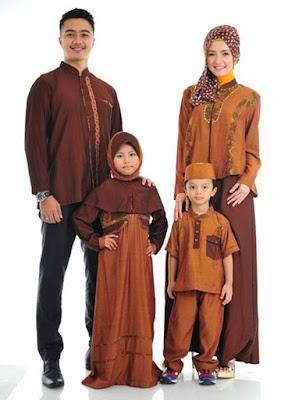 baju muslim untuk keluarga