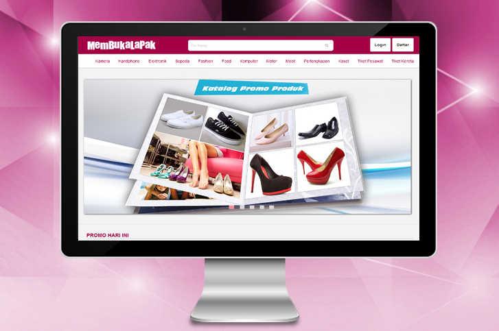 Membuat Desain Website MembukaLapak Menggunakan Bahasa HTML Dan CSS