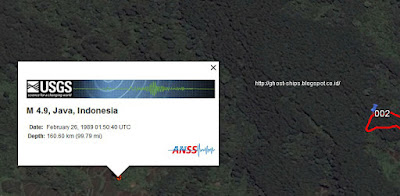 Lokasi finish sangat dekat dengan pusat gempa Tasikmalaya tahun 1989.