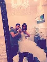 Guendalina Tavassi su Facebook il suo abito da sposa