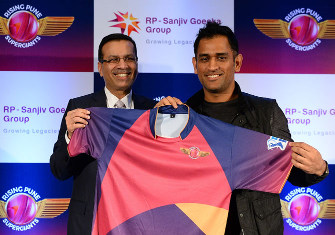 Rising Pune Supergaints (RPS) Jersey
