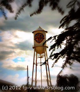 WB Studios water tower