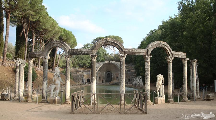 Villa Adriana, Tivoli, Roma, Itália