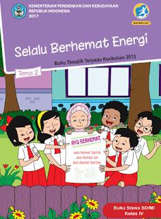 Buku Siswa Tema 2 Selalu Berhemat Energi Kelas 4 Kurikulum 2013 Revisi 2017