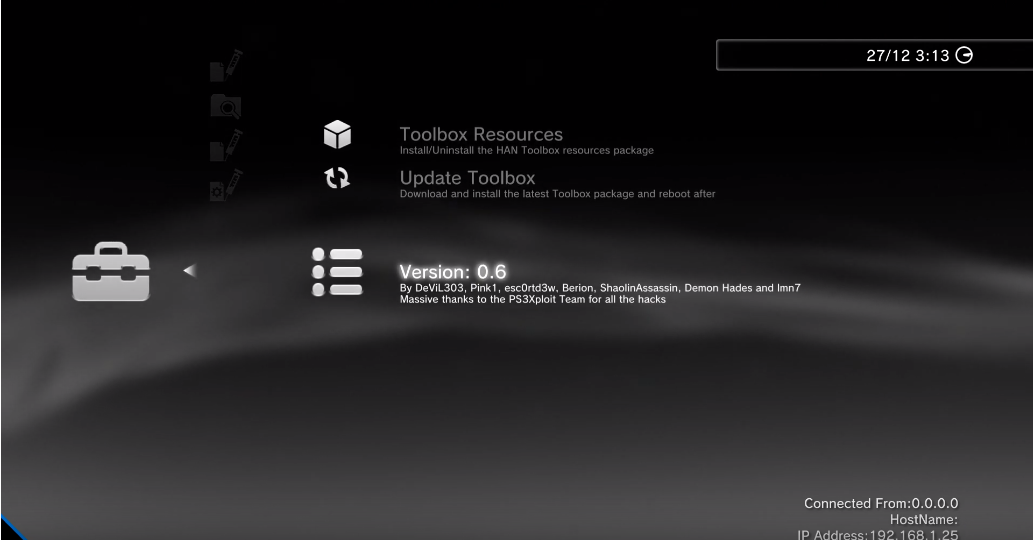 PS3 Update HAN Toolbox v0 6 Released by ShaolinAssassin - Consoleinfo