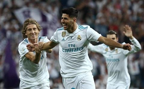 Tiền vệ trẻ Marco Asensio thần tượng huyền thoại Zidane